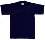 Navy Blue Pro Club Shirt on White Pro Club T Shirt Page