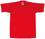 Red Pro Club Shirt on White Pro Club T Shirt Page