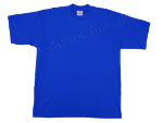 Royal Blue Pro Club Shirt on White Pro Club T Shirt Page