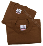 Brown Pro Club T-Shirts (2 T-Shirts)
