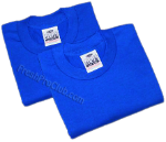 Royal Blue Pro Club T-Shirts (2 T-Shirts)