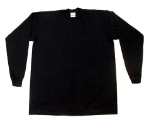 Pro Club Long Sleeve T-Shirt (Black Tee)