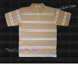 Pro Club Striped Polo (1pc) -  6 Colors Available