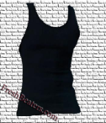 Pro Club - Black Mens Ribbed Tank Tops (2 Beater)
