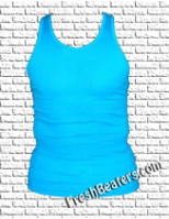 Pro Club Turquoise Mens Tank Top ( 2 Beater)