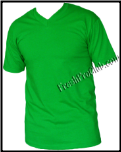 Assorted 3pack Colored V Neck T Shirt
