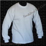 Pro Club Long Sleeve Thermal (White)